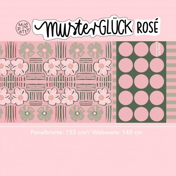 Fabrics/Designers/Miss Patty/Musterglück, rosé Bild 1