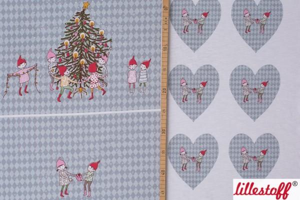 Fabrics/Designers/SUSAlabim/Tischset Wichtelweihnacht Bild 1