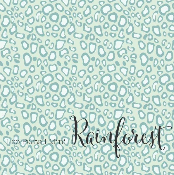 Stoffe/Designer/et voilà/Leo Pastell Mini, rainforest Bild 1