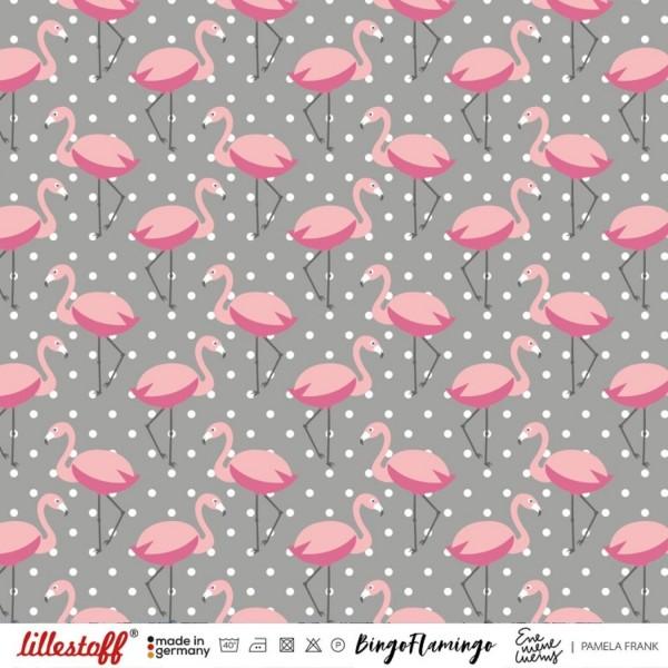 Fabrics/Designers/Enemenemeins/Bingo Flamingo Bild 1