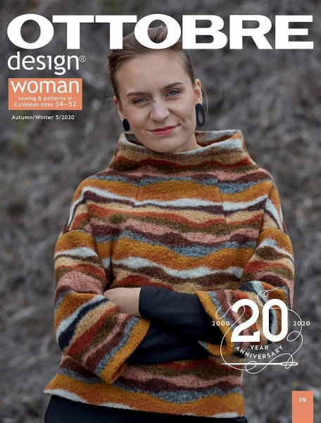 Pattern/Books and magazines/05/2020 OTTOBRE design®, Woman Herbst/Winter Bild 1