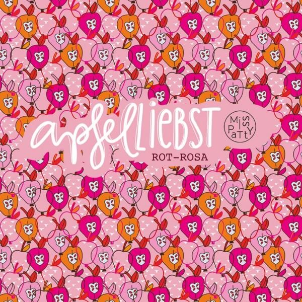 Stoffe/Designer/Miss Patty/Apfelliebst, rot-rosa Bild 1