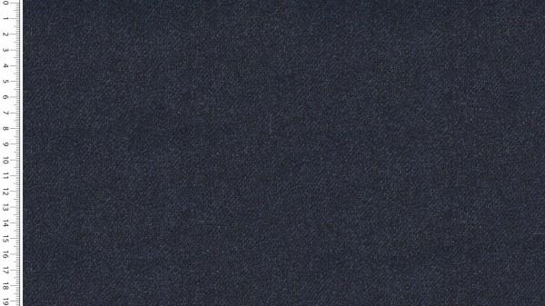 Stoffe/Basics/Sweat Uni/Jeansoptik Summersweat, marine Bild 1