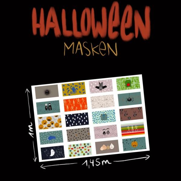 Fabrics/Designers/Lillemo/Halloweenmasken Bild 1