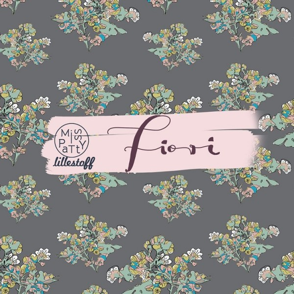 Stoffe/Designer/Miss Patty/Fiori grau Bild 1