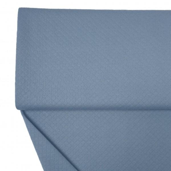 Stoffe/Basics/Stepper Uni/Leichter Baumwollstepper, jeansblau Bild 1