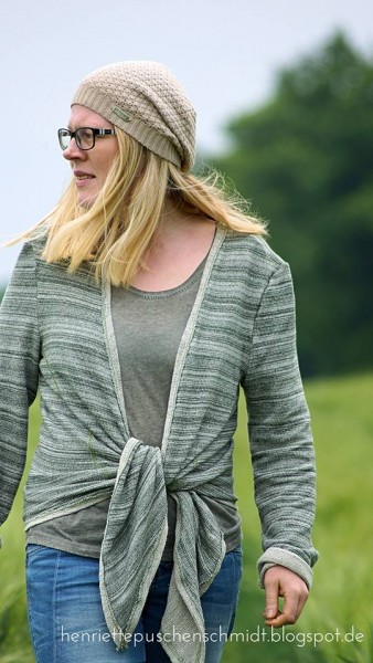 Sale/Discounted Products/Sommersweat French Terry Stripes, grün Bild 1