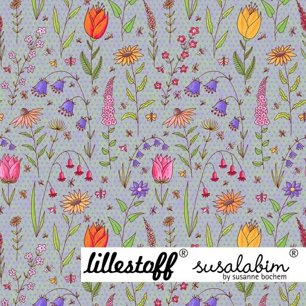 Fabrics/Designers/SUSAlabim/Susalabims Bunter Garten Bild 1