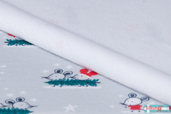 Fabrics/Animals/Christmas Mouse Bild 1