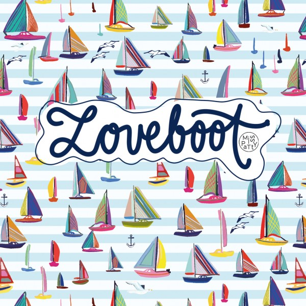 Stoffe/Fahrzeuge/Loveboot Bild 1