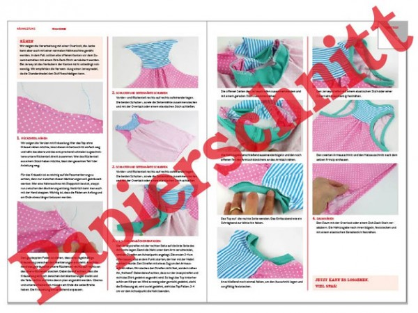 Pattern/STUDIO SCHNITTREIF/Studio Schnittreif - Schnittmuster MARLA - Mädchenpants in 3 Varianten Bild 1