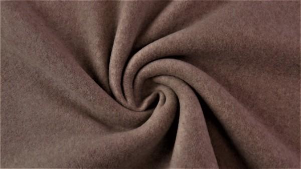Stoffe/Basics/Double Fleece Uni/Double Fleece, taupe Bild 1