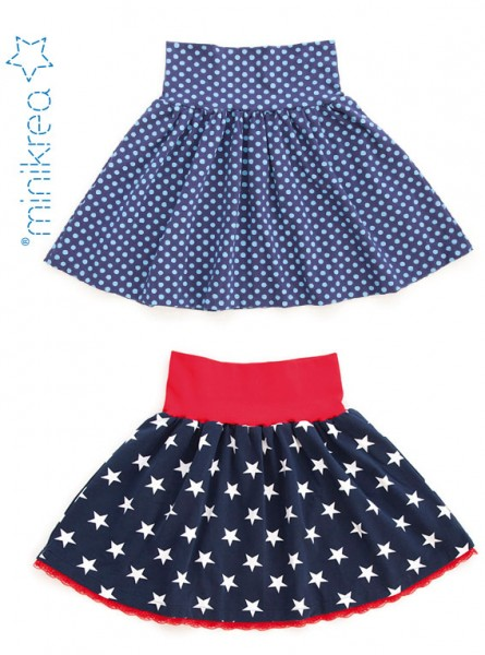 Pattern/MiniKrea/SM40140- Schnittmuster/Pattern A-Linien Rock/A-Line Skirt Bild 1