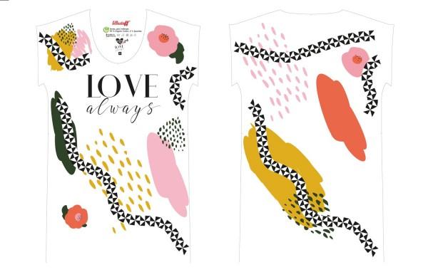 Fabrics/Designers/Wunderpop/Love Always, Größe XS Bild 1