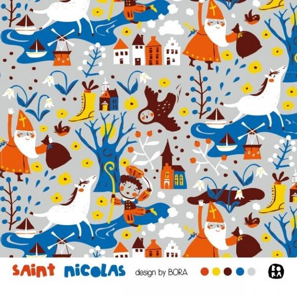 Stoffe/Jahreszeiten und Feiertage/Saint Nicolas Bild 1