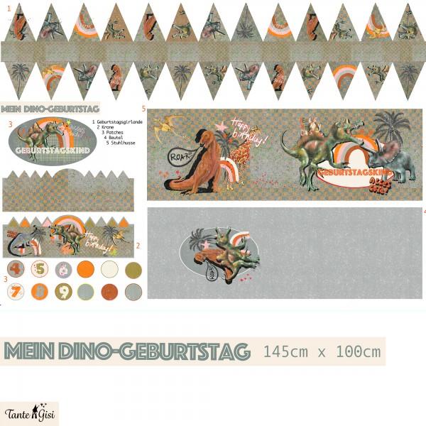 Stoffe/Designer/Tante Gisi/Mein Dino Geburtstag Bild 1