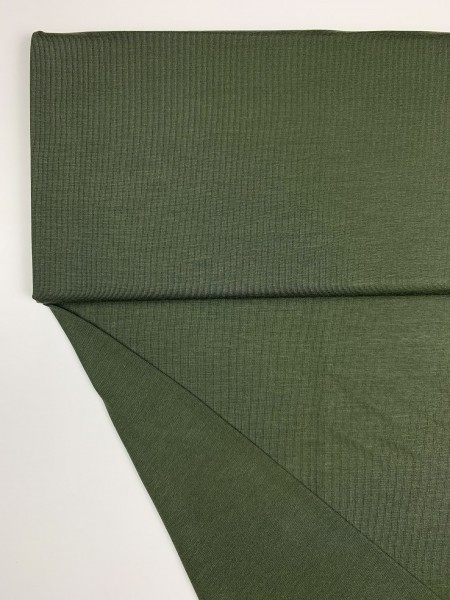 Stoffe/Basics/Modal Uni/Modaljersey, armeegrün Bild 1
