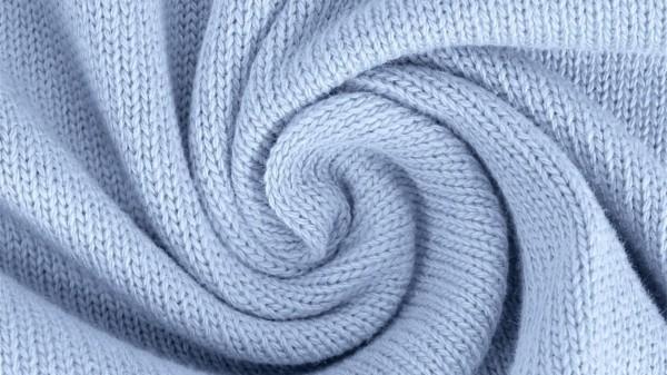 Stoffe/Basics/Strick Uni/Baumwollstrick, hellblau Bild 1
