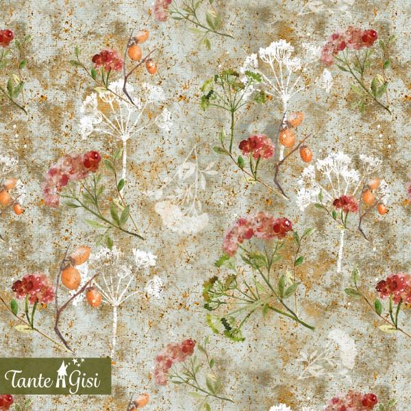 Fabrics/Designers/Tante Gisi/Herbstkraut Bild 1