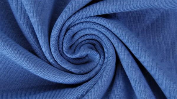 Stoffe/Basics/Sweat Uni/Summersweat, dunkelblau Bild 1