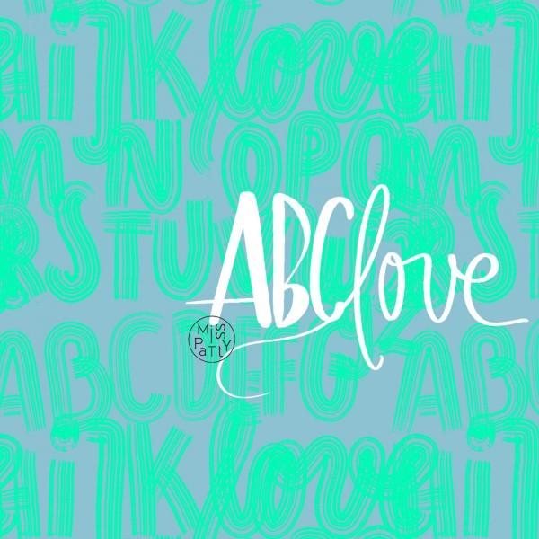 Fabrics/Designers/Miss Patty/ABClove, grün Bild 1