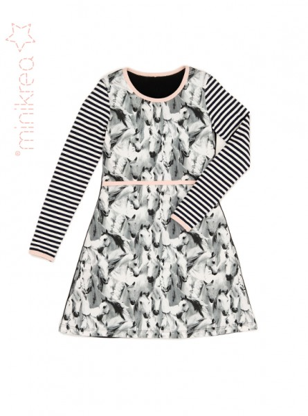 Pattern/MiniKrea/SM40040- Schnittmuster/Pattern Teen Jersey Kleid/Teen Jersey dress Bild 1