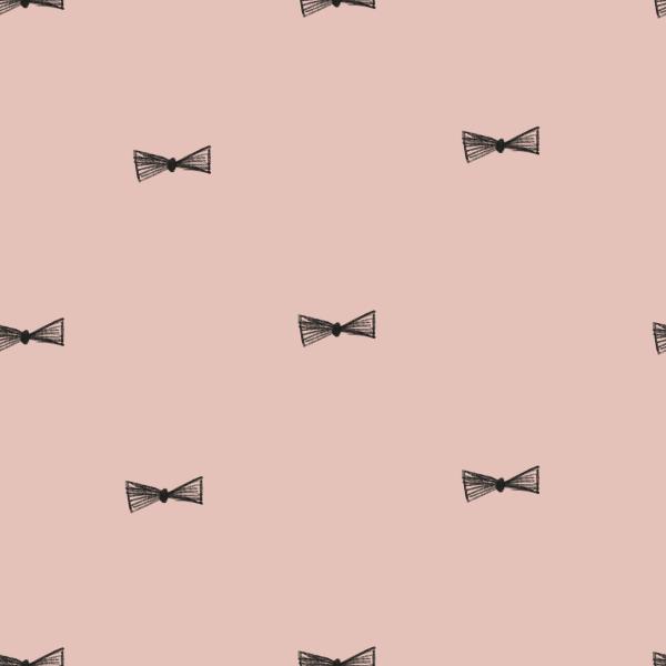 Fabrics/Graphics/Bow On Pink Bild 1