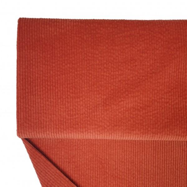 Fabrics/Basics/Solid Cord/Breitcord, brique Bild 1