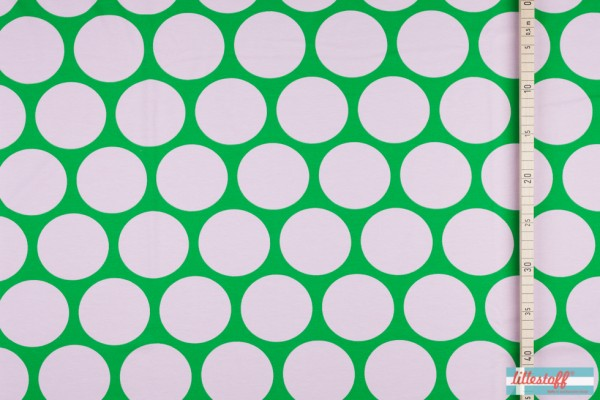 Riesenpunkte, grün_rosa, Jersey GOTS Türkei 02.jpg
