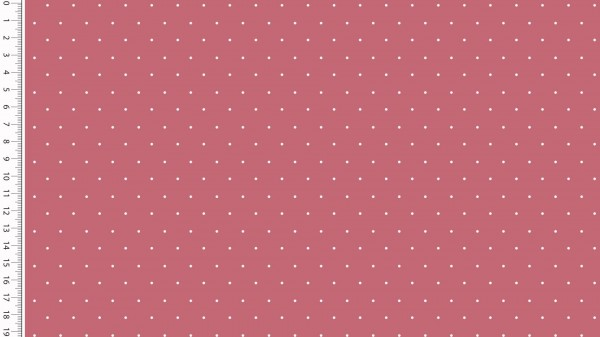 Stoffe/Basics/Sonstige/Jersey Punkte, bordeaux Bild 1