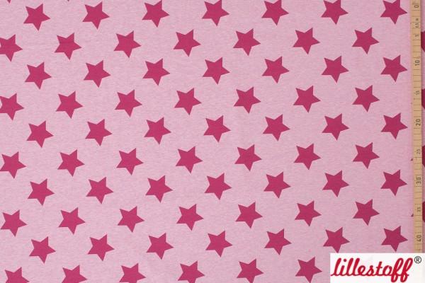 Fabrics/Graphics/Sterne rosa meliert Bild 1