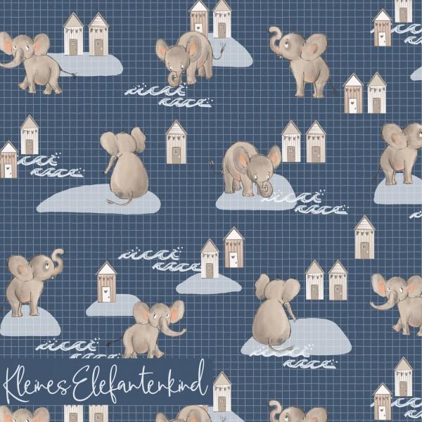 Fabrics/Designers/Tante Gisi/Kleines Elefantenkind Bild 1