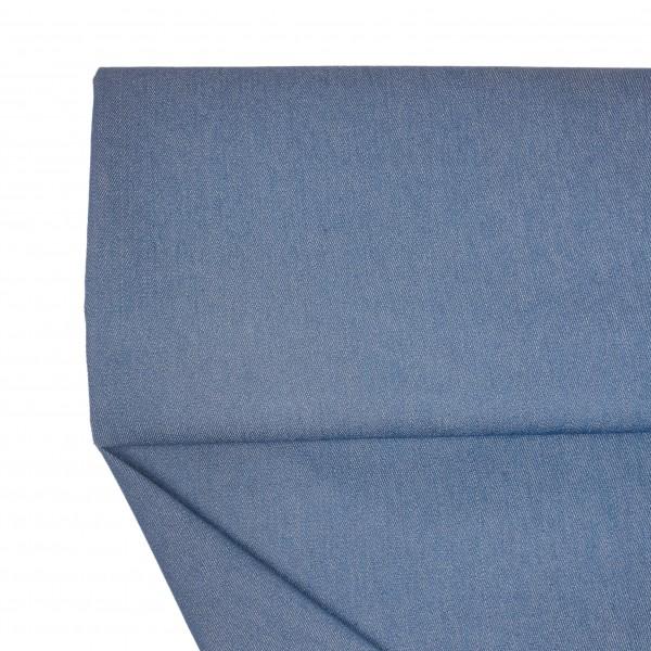 Stoffe/Basics/Jeans Uni/Summerjeans, jeansblau Bild 1
