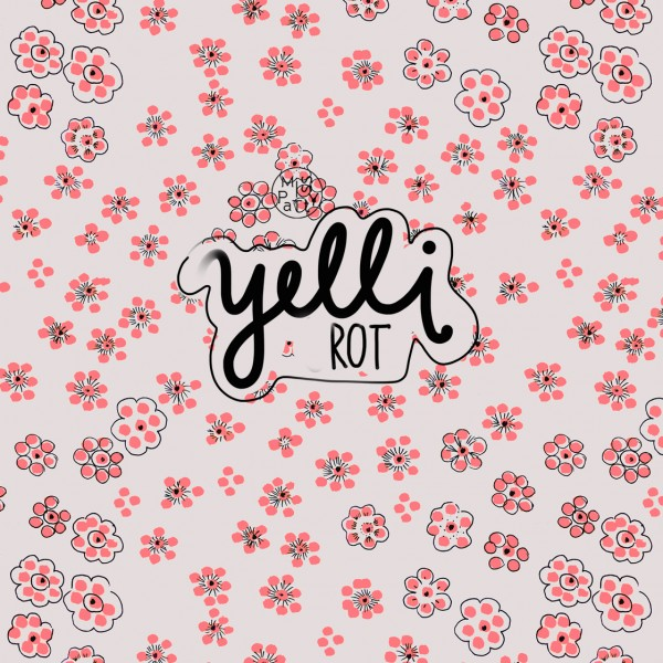Fabrics/Designers/Miss Patty/Yelli, rot Bild 1