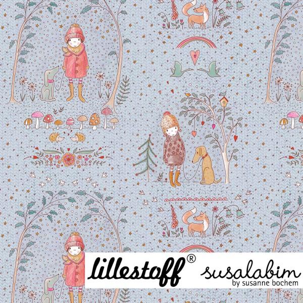 Fabrics/Designers/SUSAlabim/Susalabims Winterdoodle Bild 1