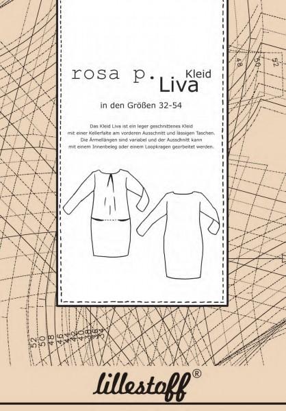 Schnittmuster/lillestoff/Schnittmuster Kleid LIVA Bild 1