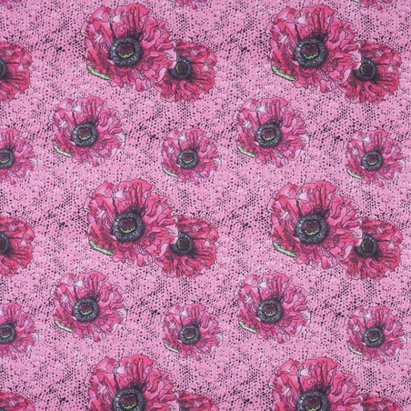 Fabrics/Designers/Tante Gisi/Rosa Masche Bild 1