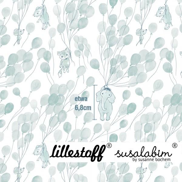 Fabrics/Designers/SUSAlabim/Fliegende Tiere, blau Bild 1