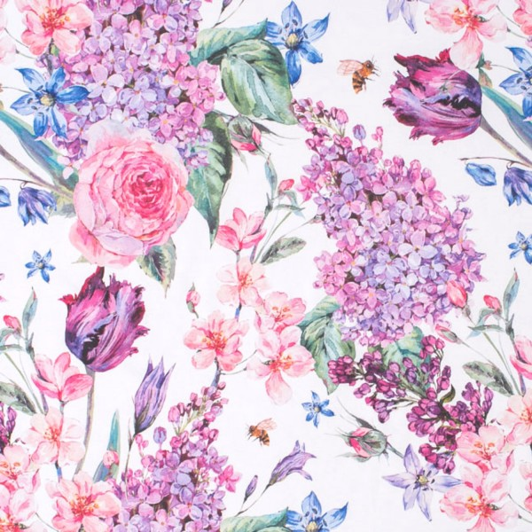 Stoffe/Floral/Spring Bouquet Bild 1