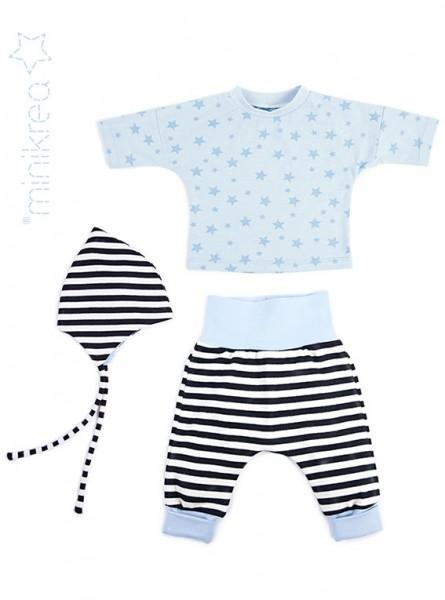 Pattern/MiniKrea/SM11410- Schnittmuster/Pattern Babyset mit Mütze Bild 1