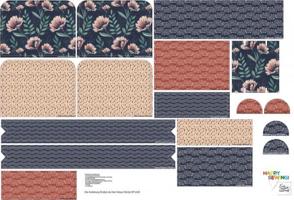 Stoffe/Designer/Enemenemeins/Helenes Blütentraum Rucksack Bild 1