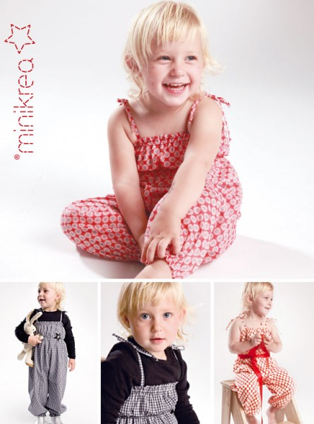 Schnittmuster/MiniKrea/SM20400- Schnittmuster/Pattern Trouser Suit Bild 1