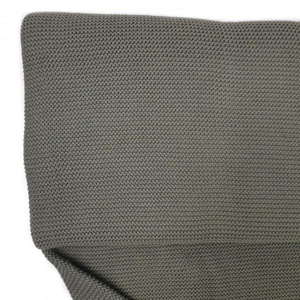 Stoffe/Basics/Linksstrick, graugrün hell Bild 1