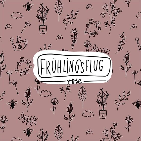 Stoffe/Designer/Miss Patty/Frühlingsflug, rose Bild 1