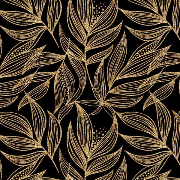Stoffe/Floral/Golden Copper Bild 1