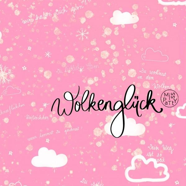 Fabrics/Designers/Miss Patty/Wolkenglück, rose Bild 1