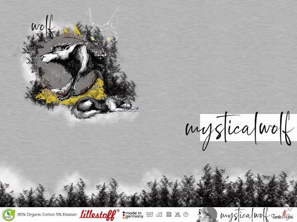 Stoffe/Designer/Tante Gisi/Mystical Wolf Bild 1