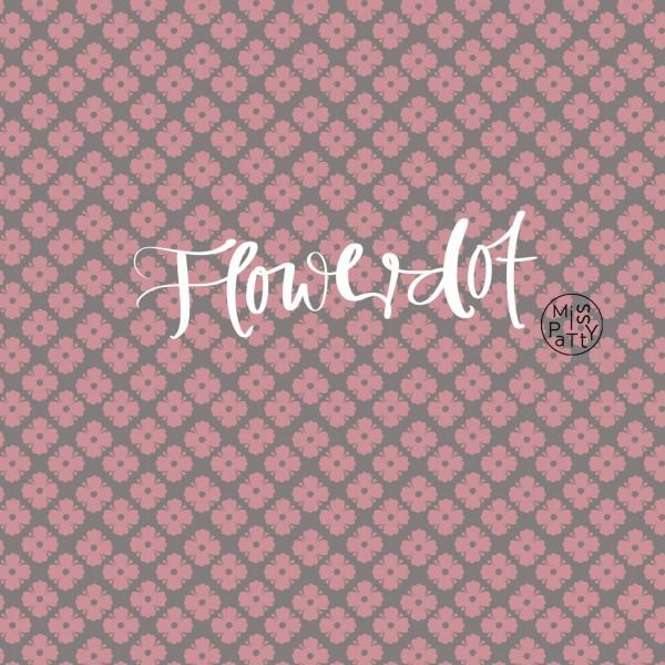 Stoffe/Designer/Miss Patty/Flowerdot, rose Bild 1