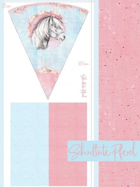 Fabrics/Designers/Tante Gisi/Schultütenset Pferd Bild 1