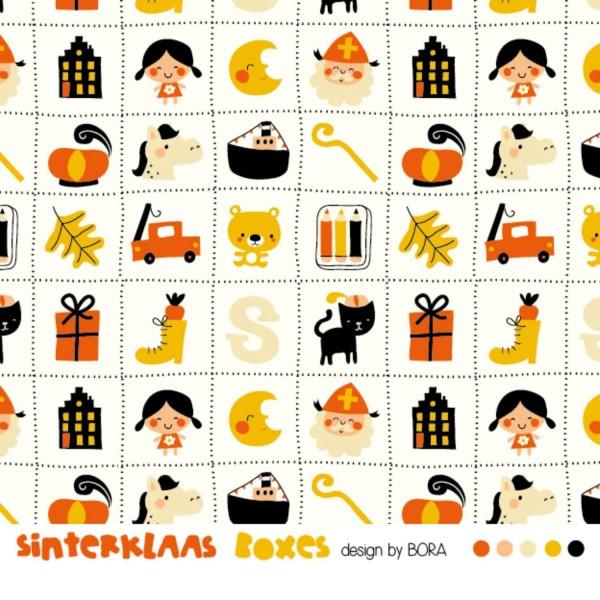 Fabrics/Designers/BORA/Sinterklaas Boxes Bild 1